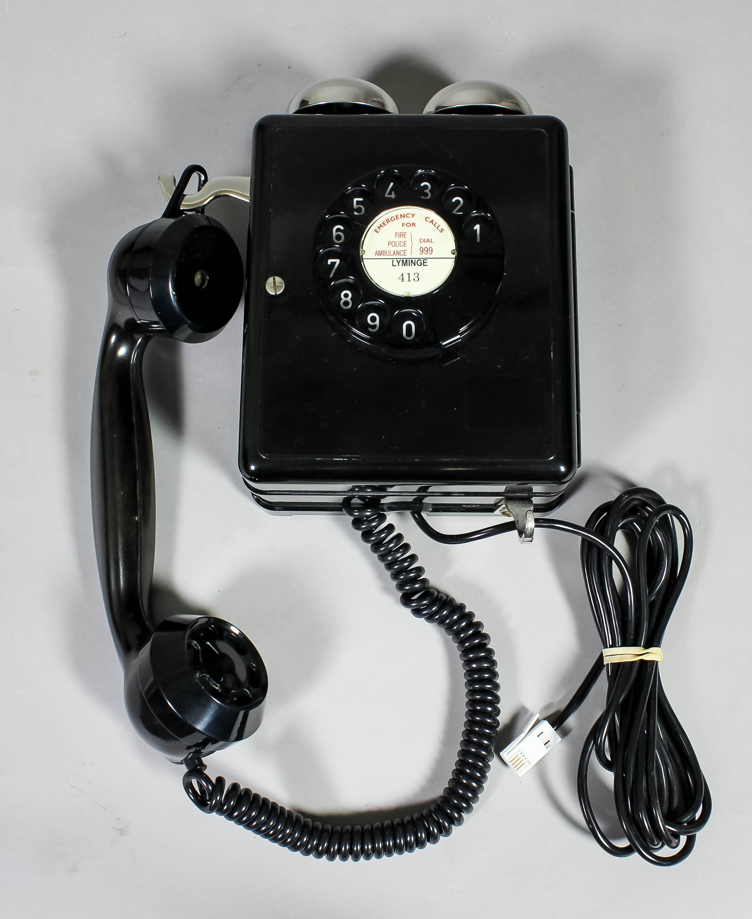 Old fashioned wall mounted telephones 31