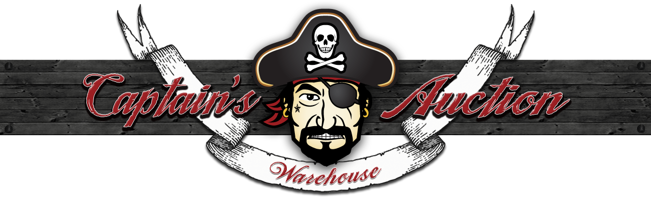 Captains Auction Warehouse logo