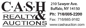 Cash Realty and Auction logo