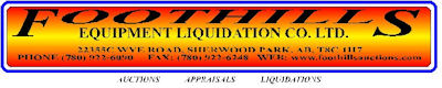 Foothills EQUIPMENT LIQUIDATION CO LTD logo