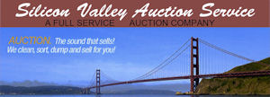 Silicon Valley Auction Service logo