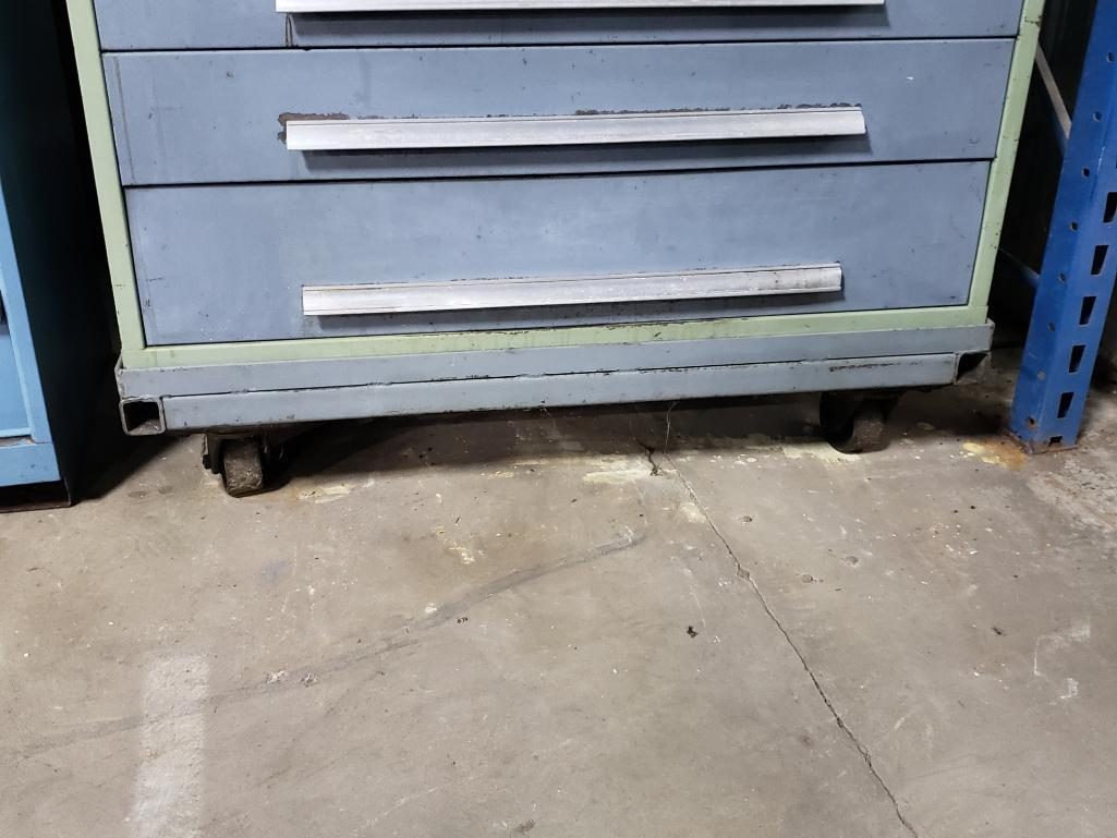 7 drawer Bott Waterloo tool cabinet on casters. Overall dimensions 48Tx44.5Wx30D. - Image 5 of 5