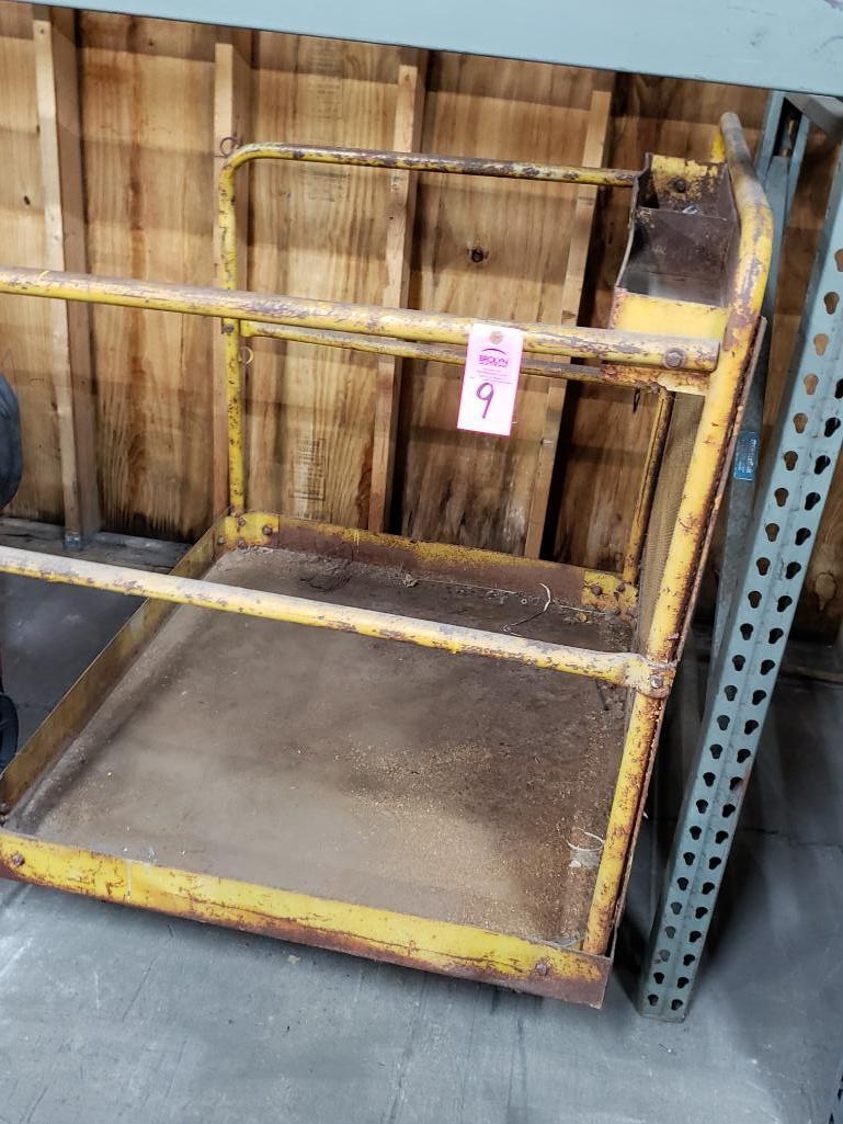 Forklift safety man basket. - Image 3 of 3