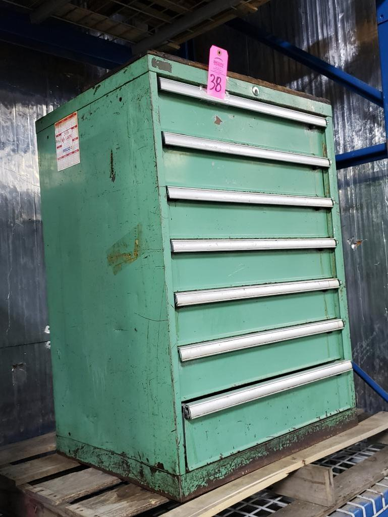 7 drawer Tool cabinet. Overall dimensions 40Tx28Wx23D. - Image 2 of 2