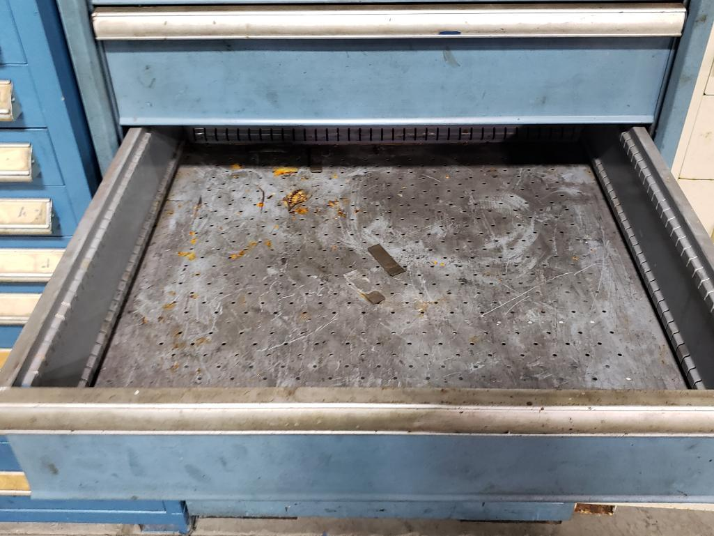 8 drawer Lista tool cabinet. Overall dimensions 59Tx28.5Wx29D. - Image 4 of 4