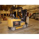 Yale 5000 Lbs. Battery-Operated Sit-Down LP Forklift Model ERC050Z, S/N K550882 (1994), #64