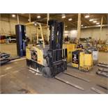 Hyster 3500 Lbs. Battery-Operated Stand-Up Forklift Model E40FR, S/N Z943W03502V, #31