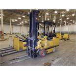Drexel 3400 Lbs. Battery-Operated Swing-Mast Sit-Down Forklift Model SL44/4, S/N 951712-462 (1999),