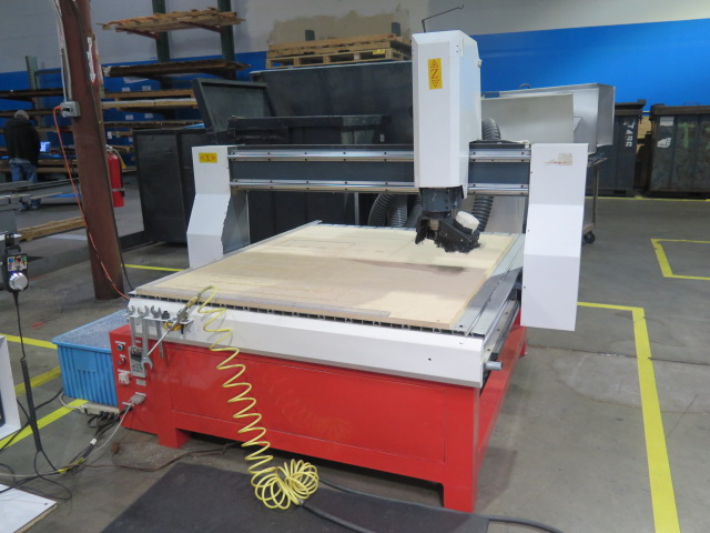 """Lot 89 - Industrial CNC """"Mach 3"""" 48"""" x 48"""" Pro Series CNC Router w/ """"Mach 3"""" System Software, 48"""" x 48"""" x 12"""""""