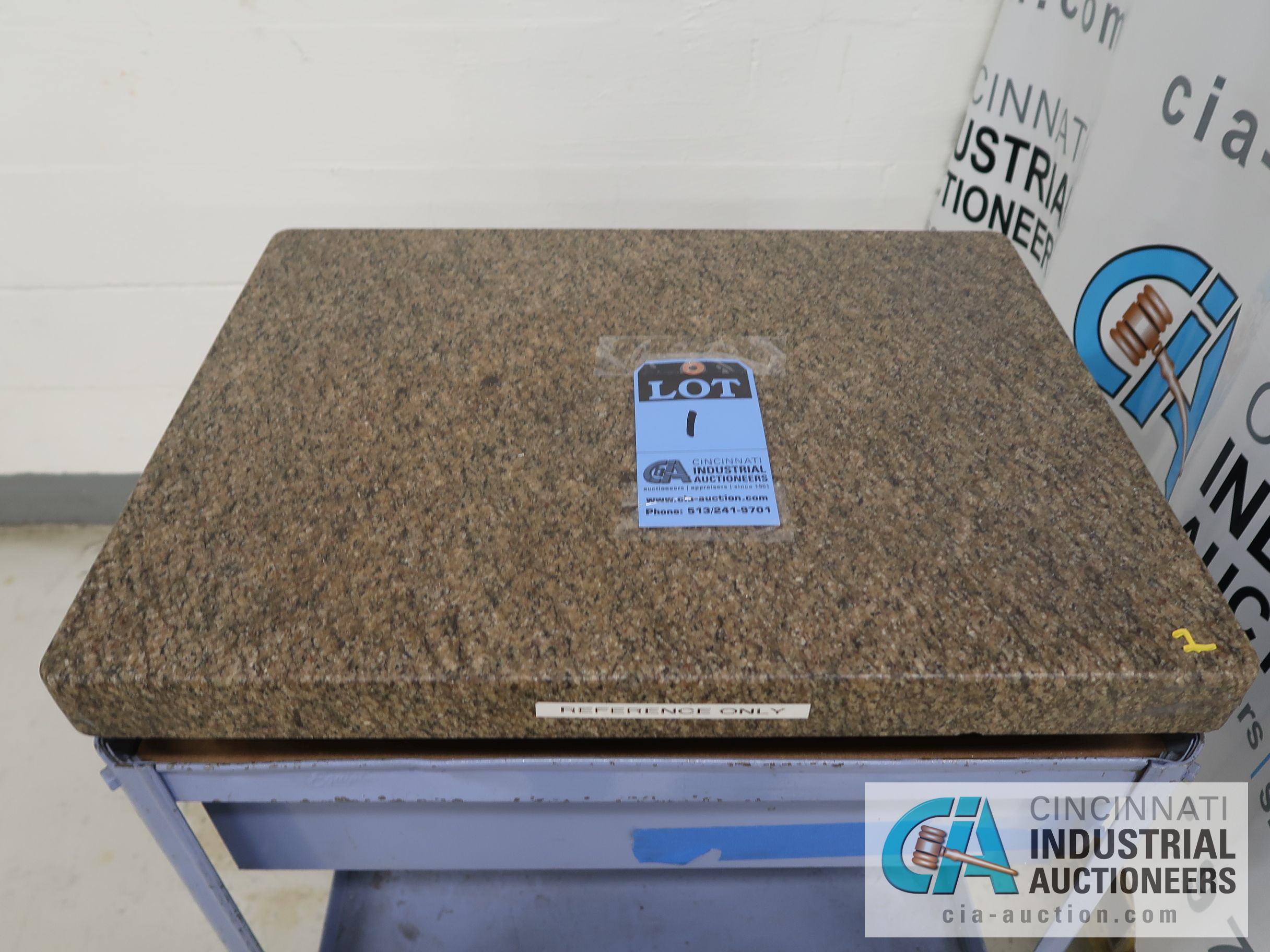 "24"" X 18"" X 2"" GRANITE SURFACE PLATE"