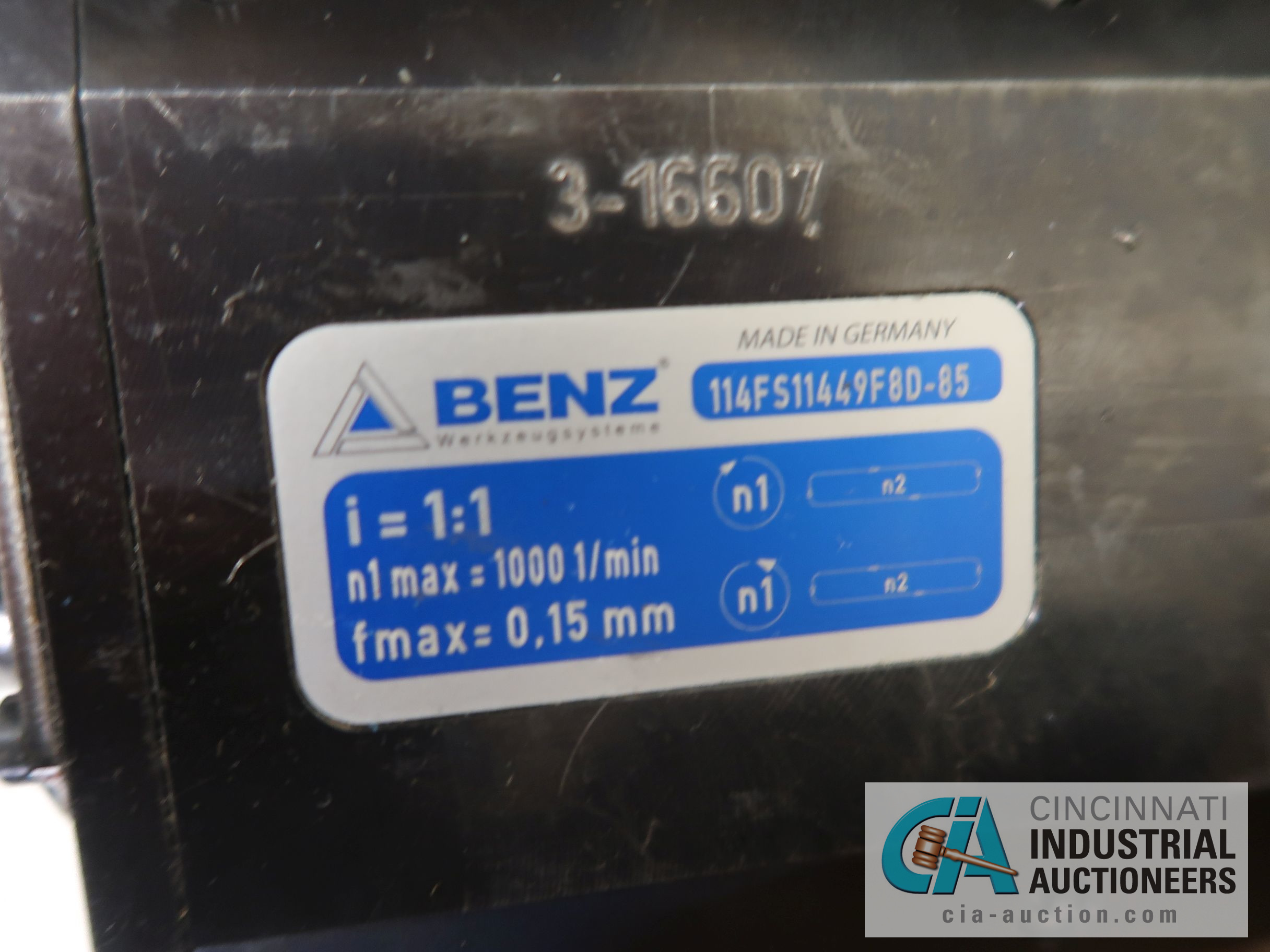 BENZ BMT55 SLOTTING HEAD TURRET; S/N 114FS11449F8D-85 - Image 2 of 2