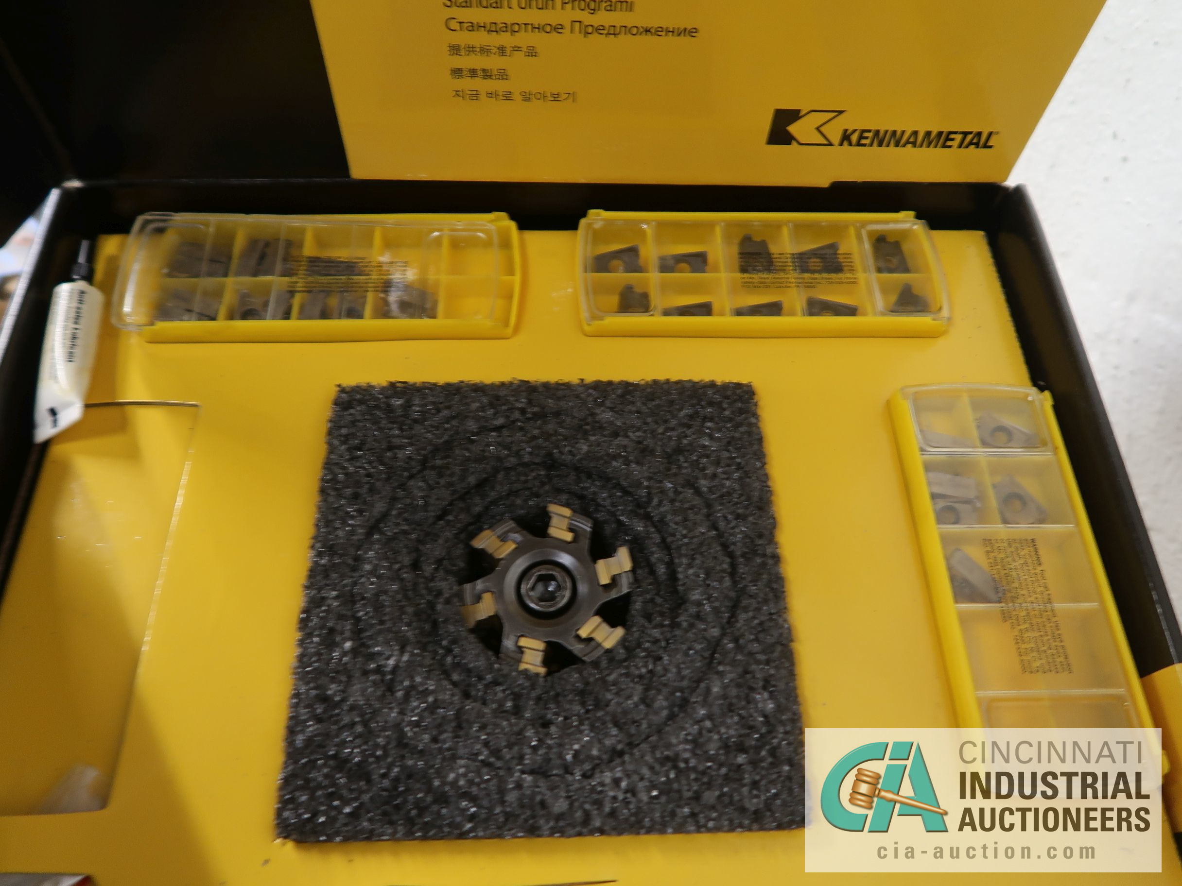 KENNAMETAL MILL 4' INDEXIBLE MILL FACE