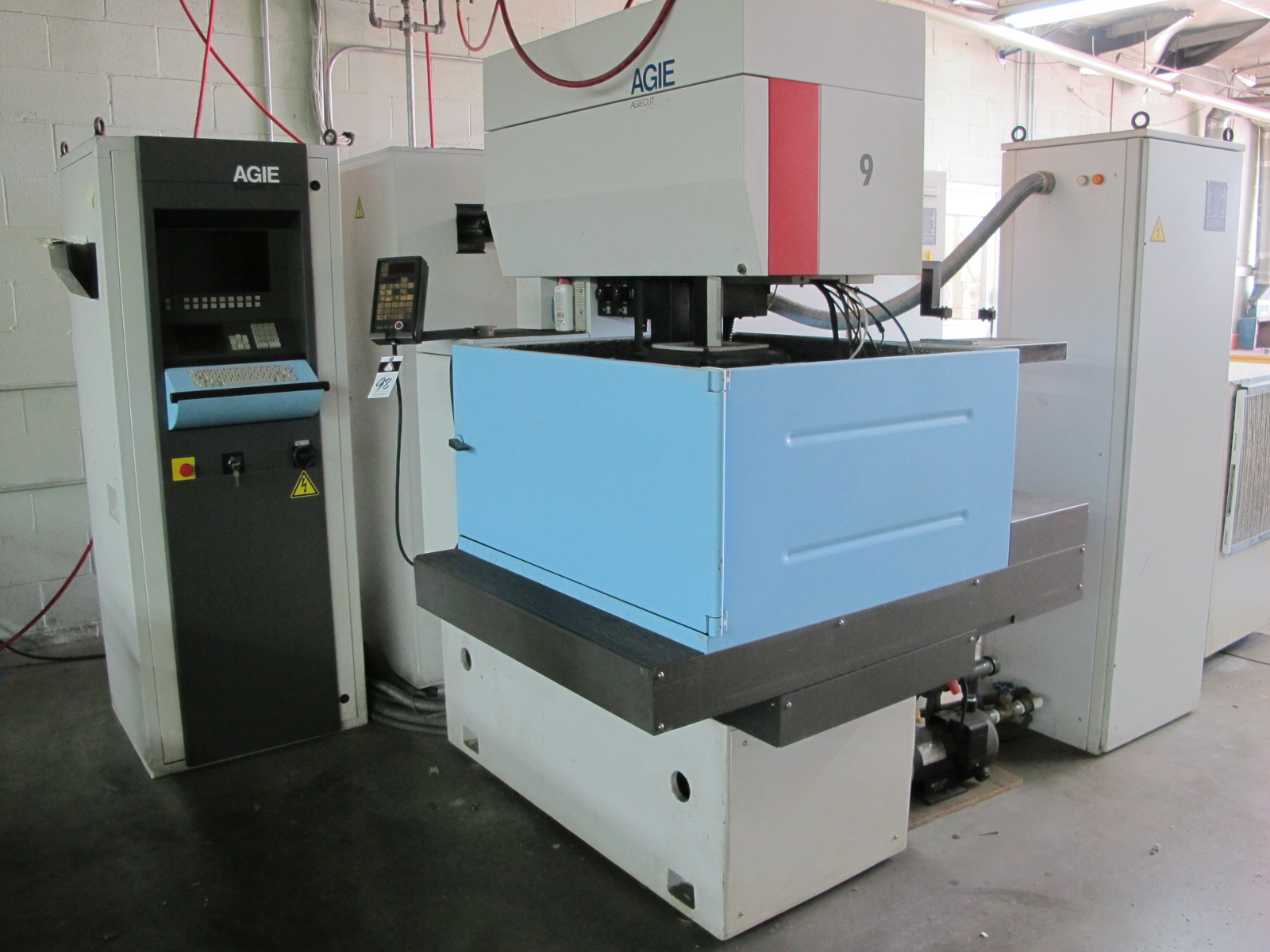 Agie Agiecut Sprint CNC Wire EDM Machine w/ Agie Agiematic CD CNC ...