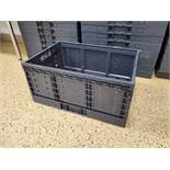 (64) 24 x 16 x 11.3 collapsible baskets