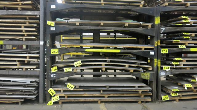 STORAGE RACK, 10' X 6' X 12' (CONTENTS NOT INCLUDED) (LATE DELIVERY)