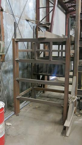 STORAGE RACK, 2' X 4' X 8' (CONTENTS NOT INCLUDED) - Image 2 of 2