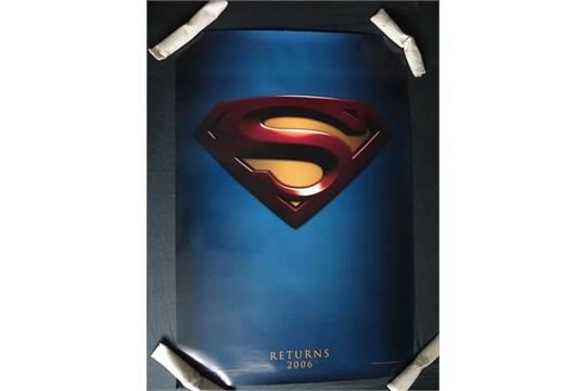 SUPERMAN RETURNS (2006) - U S  One Sheet Film Poster
