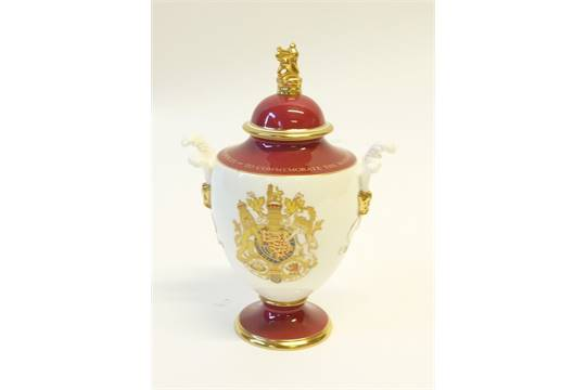 Royal Worcester China Limited Edition Royal Commemorative Two