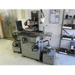 """KENT SURFACE GRINDER, MODEL KGS-250H, W/ 8"""" X 16"""" MAG CHUCK AND BOX OF GRINDING WHEELS"""