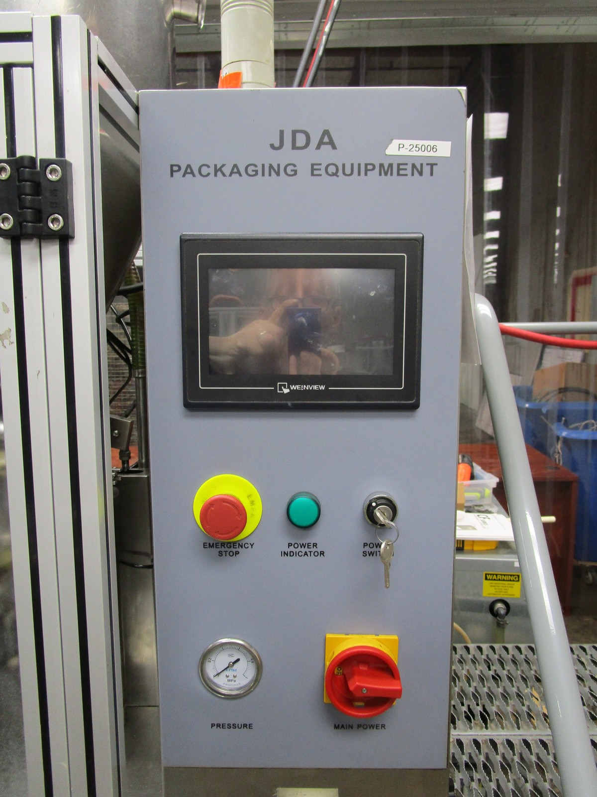 2013 JDA Packaging Equipment Super 30 Automatic Tube Filler s/n 150113, Conveyor, Hopper | Rig Fee: - Image 7 of 12