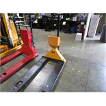 Uline H-1679 Pallet Jack with Scale, 5,000# | Rig Fee: $0