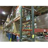 "(44) Sections of Adjustable Pallet Shelving Including (48) 16' x 44"" Uprights, (23 