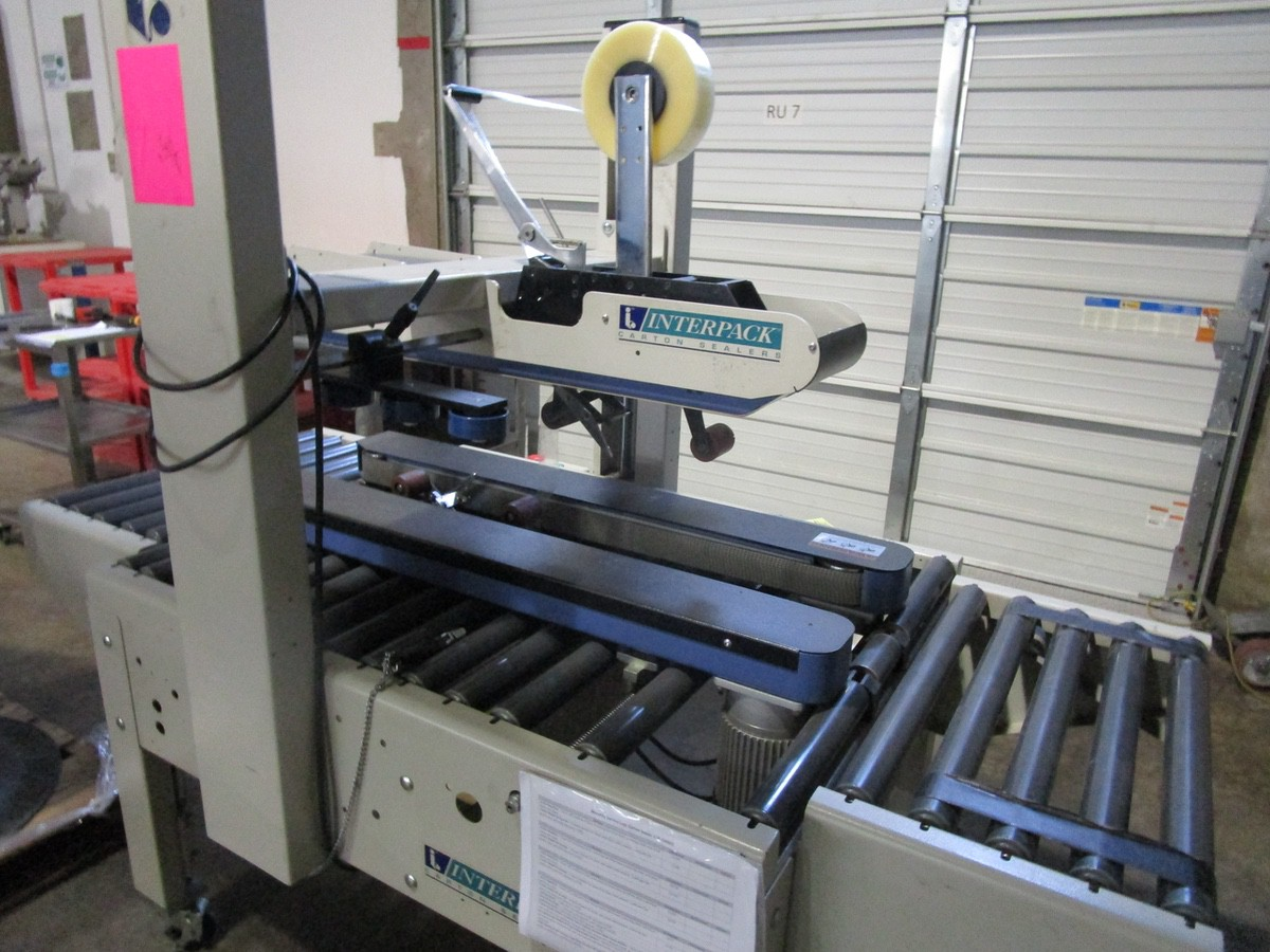 Lot 11 - Interpack USA 2024-SB Top and Bottom Case Sealer s/nTM09405A035 | Rig Fee: $100