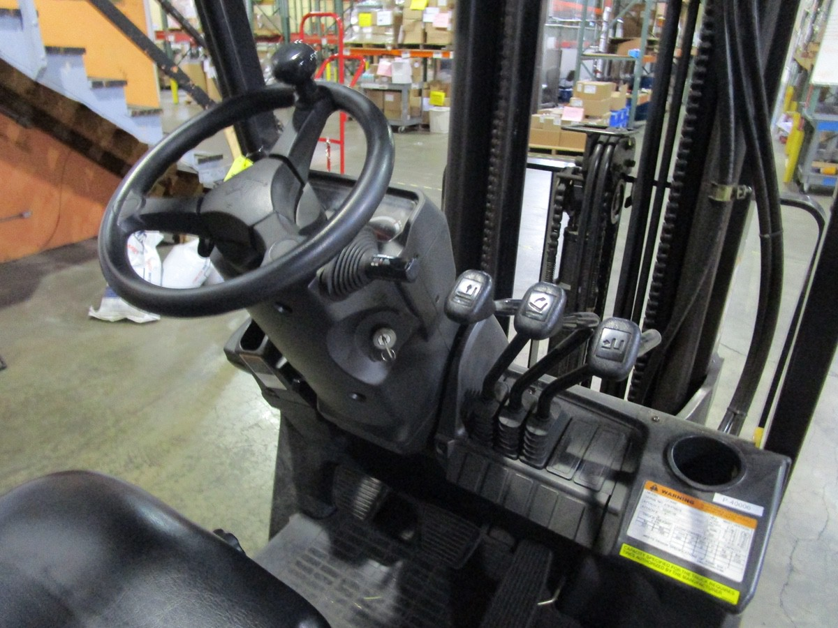 Cat CC4000 LPG Forklift s/n AT81F50079 (Delivery - 4/3/20), 1700 Hours, 3,125 #, 200 | Rig Fee: $100 - Image 7 of 7