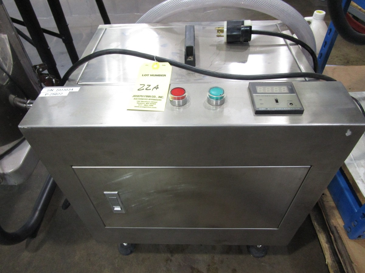 JDA Heated Tank with Jacketed Hopper | Rig Fee: $0 - Image 2 of 3