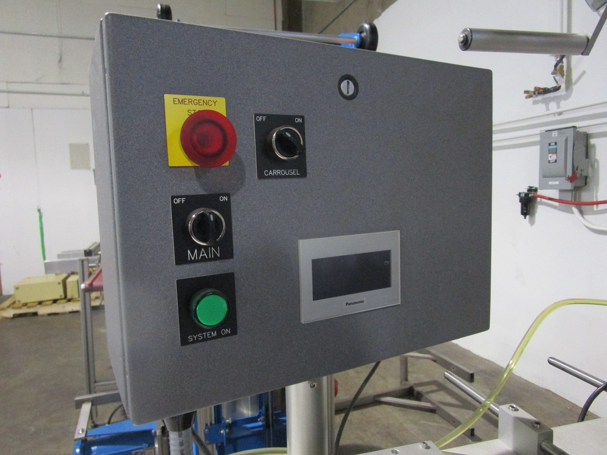 Universal R-315 Carrousel/L-15 Labeling System/L-60 Left Hand s/n 718-004-1-05-1064 | Rig Fee: $50 - Image 4 of 10