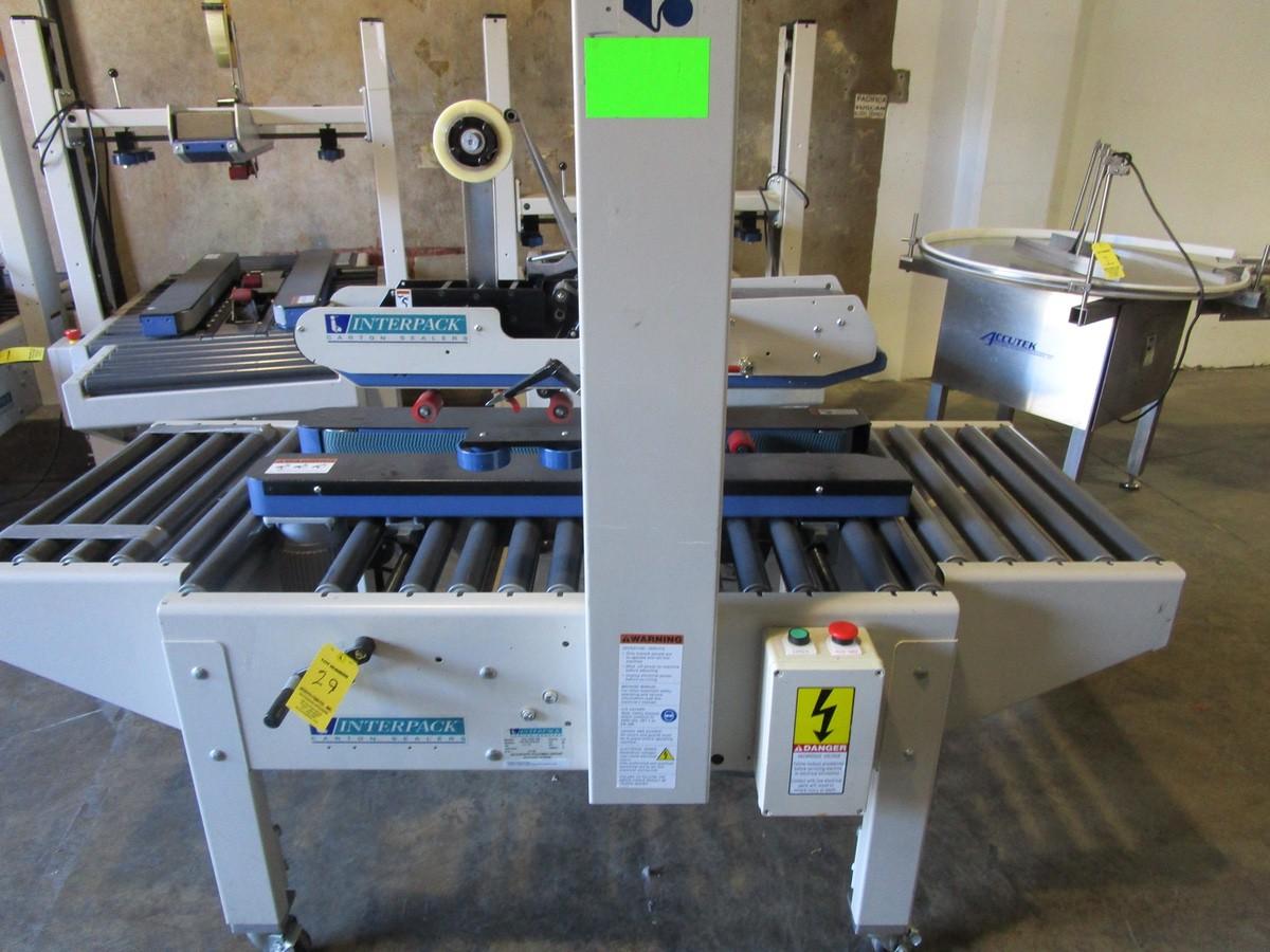 Interpack USA 2024-SB Top and Bottom Case Sealer s/nTM09407B04 | Rig Fee: $100