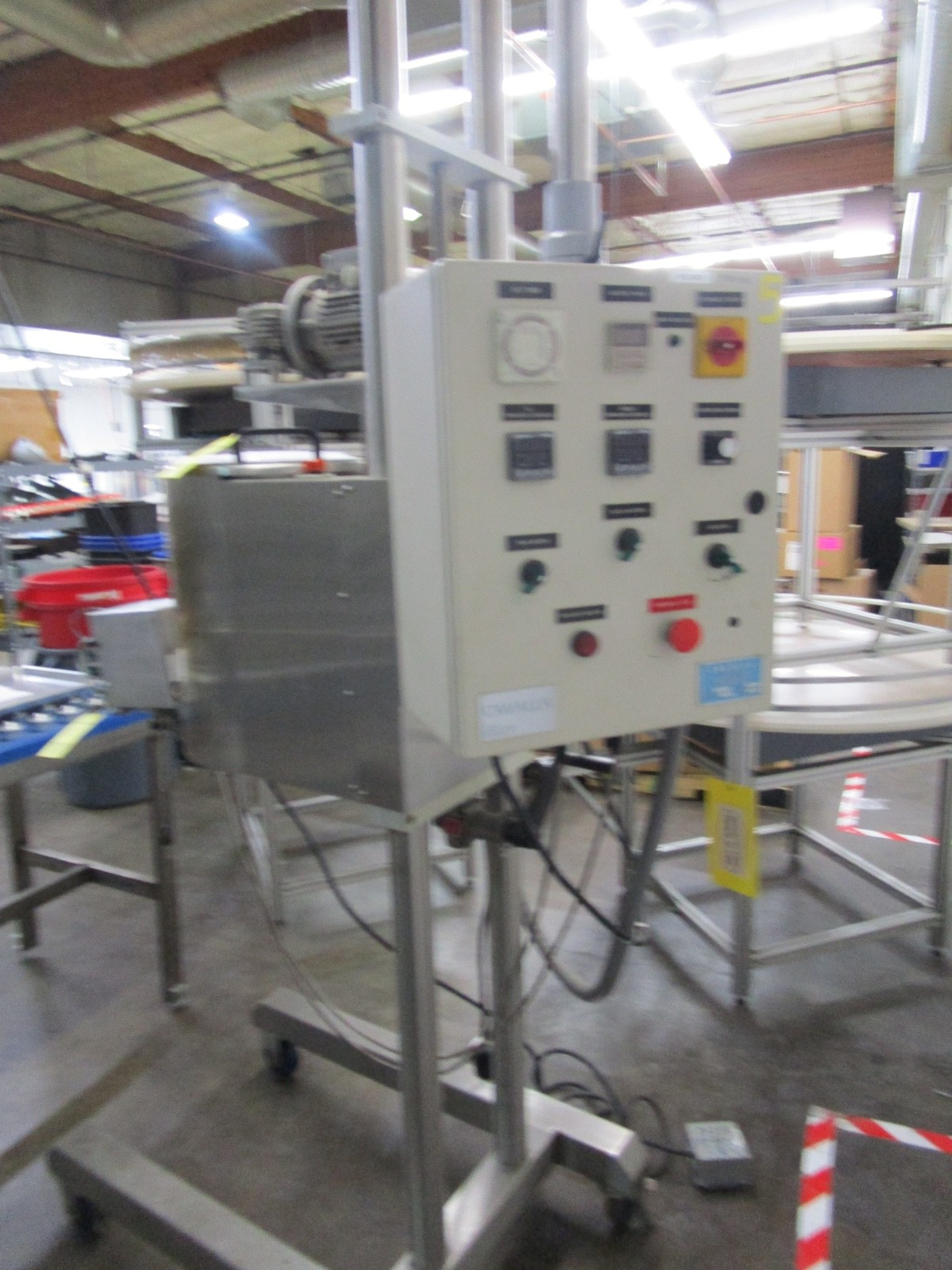 Cavalla Soy Wax Melter For Solid Perfume, K15 Control, s/n 116, Roller Conveyor | Rig Fee: $50