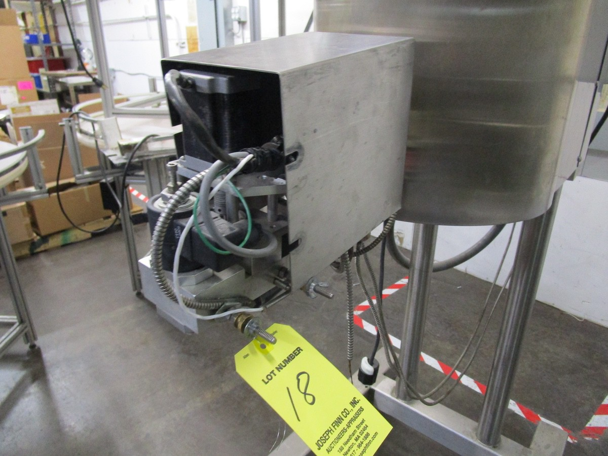 Cavalla Soy Wax Melter For Solid Perfume, K15 Control, s/n 116, Roller Conveyor | Rig Fee: $50 - Image 3 of 7