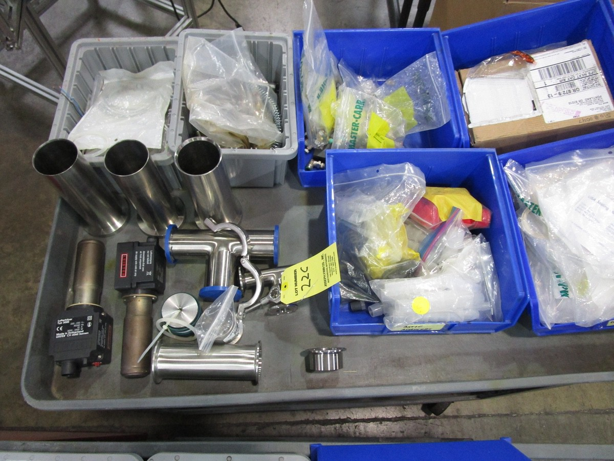 Lot 22C - Hot Air Tube Filler Parts & Toolbox | Rig Fee: $50