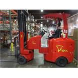 "Flexi Plus G4 Narrow Aisle Articulating Forklift s/n NA01329, 3300#, 194"", 3,550 Hou | Rig Fee: $100"