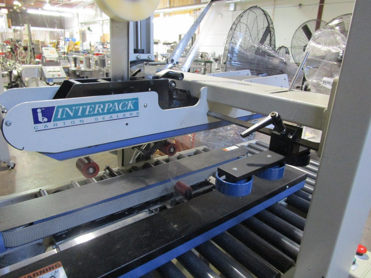 Interpack USA 2024-SB Top and Bottom Case Sealer s/nTM09405A035 | Rig Fee: $100 - Image 2 of 5