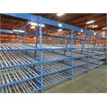 "(19) Sections Kingway Flow Racking, 60"" Wide 