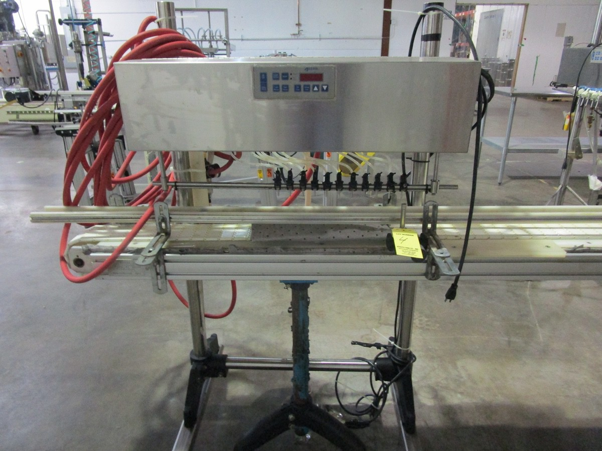 2004 Accutek AT/AP Perfume Production Line, Mini-Pinch 11-Head Filler s/n A-17-20132 | Rig Fee: $300 - Image 2 of 6