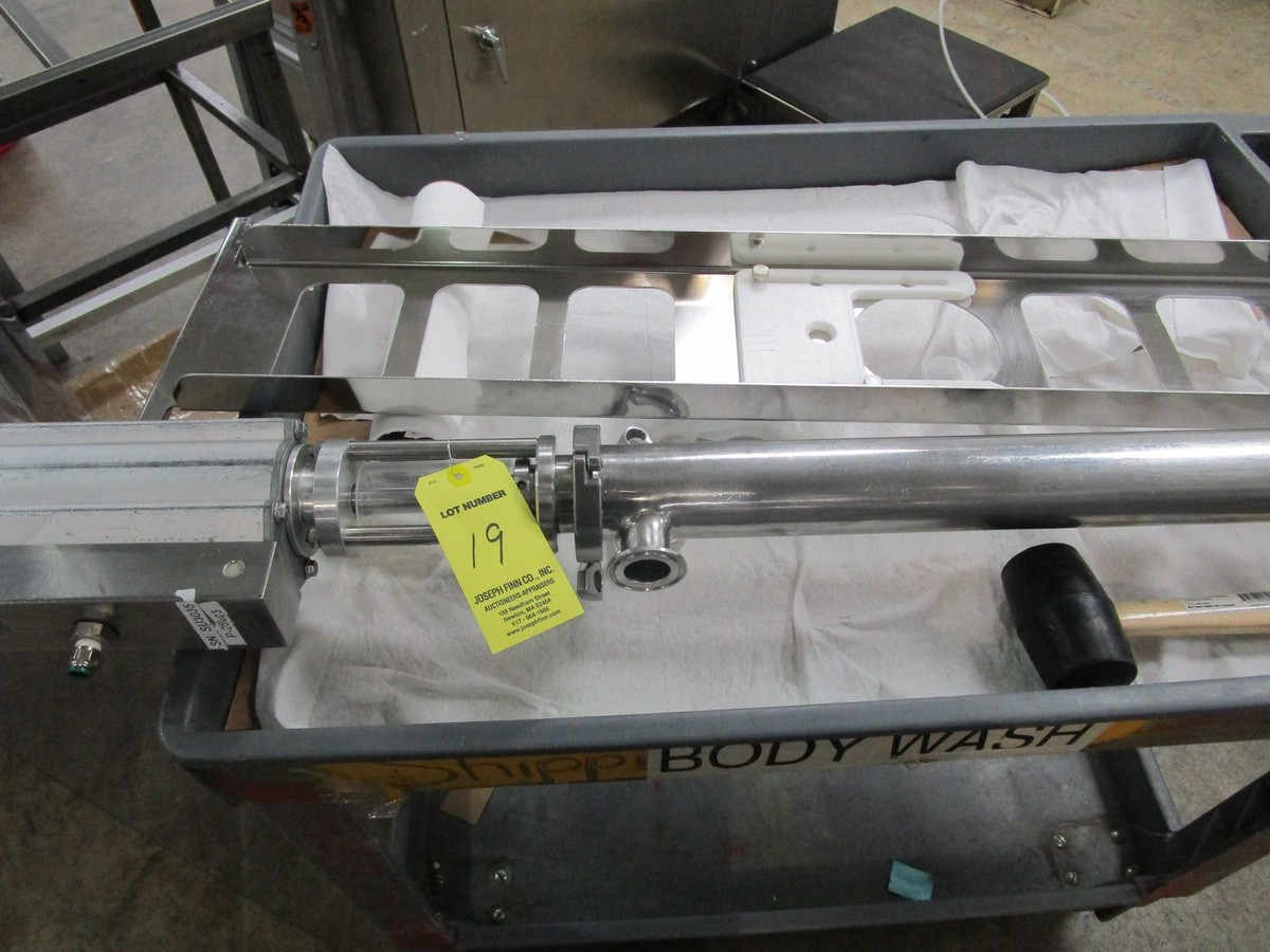 2011 TotalPacks TFS-100A Automatic Hot Air Tube Filler, s/n 5ML-250ML, Hopper & Part | Rig Fee: $650 - Image 12 of 12