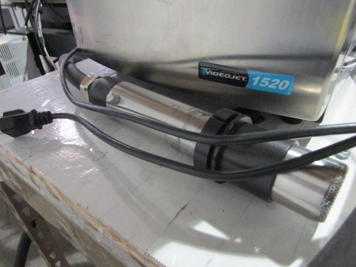 VideoJet 1520 Ink Jet Coding Machine s/n 1333939C22ZH | Rig Fee: $75 - Image 3 of 4