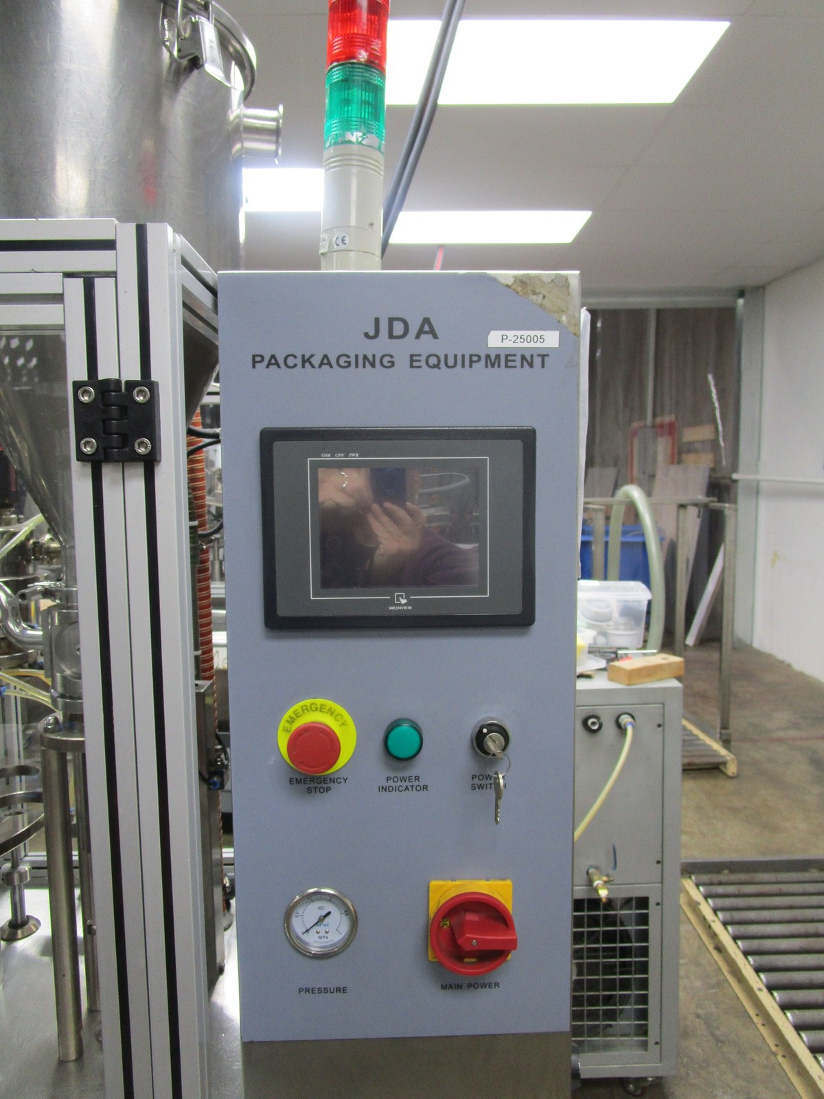 2012 JDA Packaging Equipment Super 30 Automatic 9-Pocket Hot Air Tube Filler s/n 230 | Rig Fee: $650 - Image 6 of 14