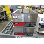 (2) Nemco 6055A Food Warmers | Rig Fee: $0