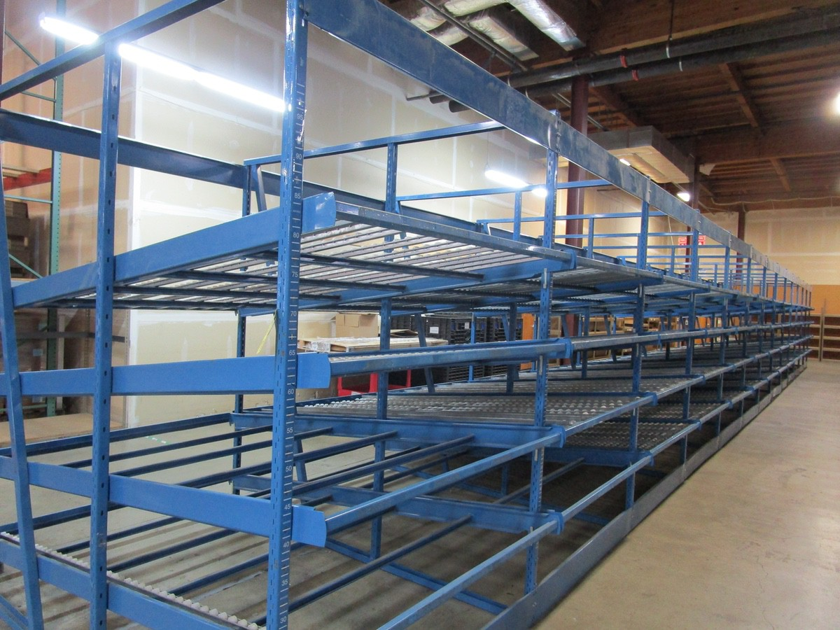 "Lot 36 - (19) Sections Kingway Flow Racking, 60"" Wide 