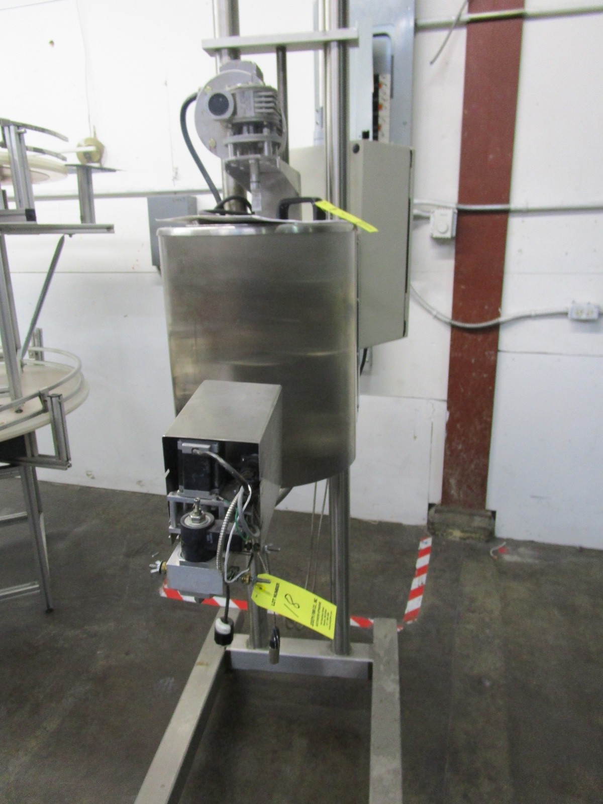 Cavalla Soy Wax Melter For Solid Perfume, K15 Control, s/n 116, Roller Conveyor | Rig Fee: $50 - Image 2 of 7