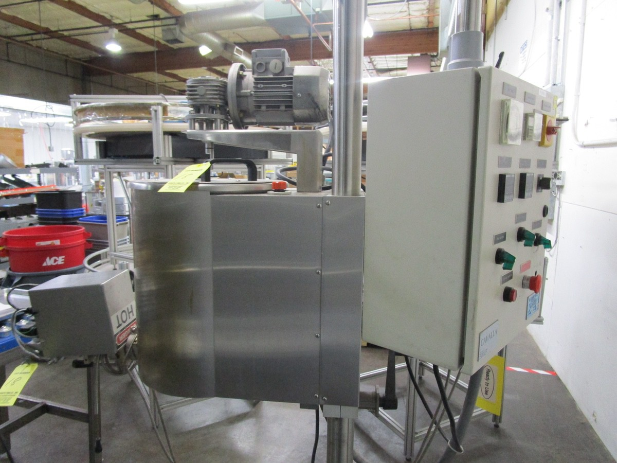 Cavalla Soy Wax Melter For Solid Perfume, K15 Control, s/n 116, Roller Conveyor | Rig Fee: $50 - Image 5 of 7