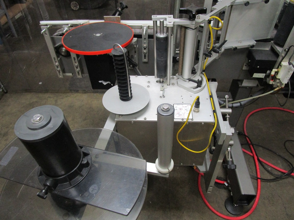 2017 Universal R320 Round Product Labeler s/n R320-06C-1142L, R.L. Craig Dual Side | Rig Fee: $50 - Image 6 of 8
