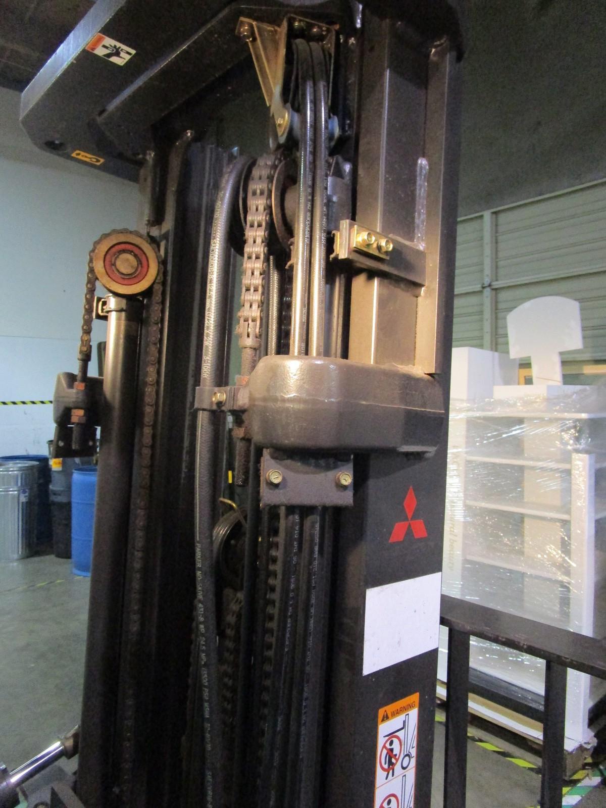 Mitsubishi FG25N LPG Forklift s/n AF17D03330 (Delivery - 4/3/20), 3175 Hours, 4,500# | Rig Fee: $100 - Image 6 of 7