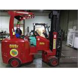 Tailift USA DV8R Narrow Aisle Articulating Forklift s/n 600004, 3,630#, 775 Hou | Rig Fee: $100