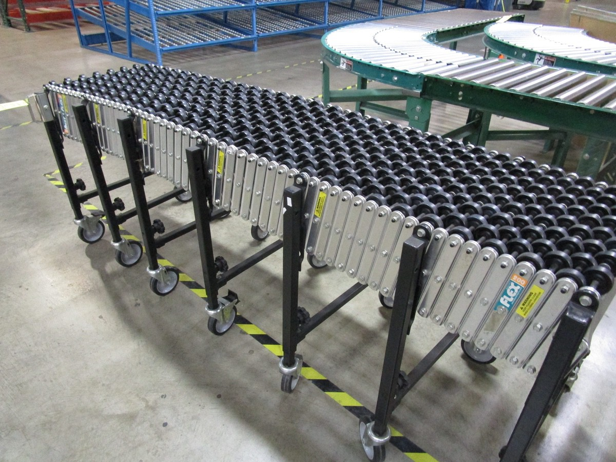 Lot 38A - (2) Sections Best Flex Expandable Conveyor | Rig Fee: $50