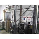 4' x 8' Cage with Door | Buyer to Remove